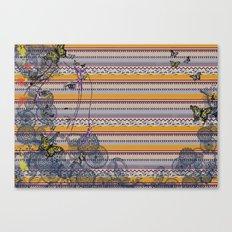 Blends of Aztec Canvas Print