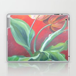Red and Yellow Tulips Laptop & iPad Skin