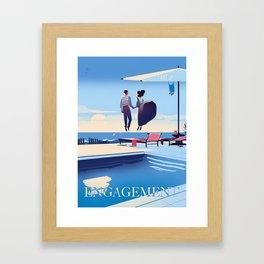 Engagement Framed Art Print