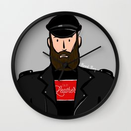 Beard Boy: Martin Wall Clock