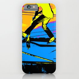 """""""Air Walking""""  - Stunt Scooter iPhone Case"""