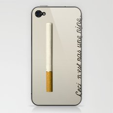 it's a fucking cigarette! iPhone & iPod Skin