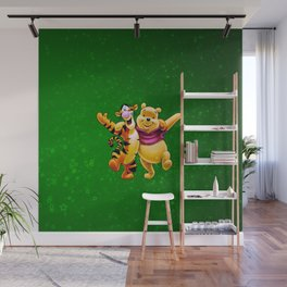 winnie and tiger Wall Mural