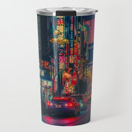 Neotokyo VI/ Japan Photo Print Travel Mug