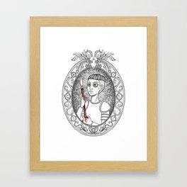 Juana de Arco Framed Art Print