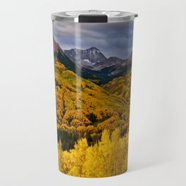 Aspen Sunrise, Colorado Travel Mug