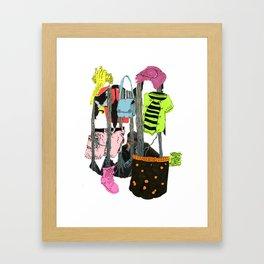 C12 Framed Art Print