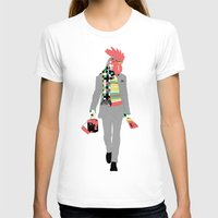 rooster T-shirts featuring Rooster by Nathalie Otter