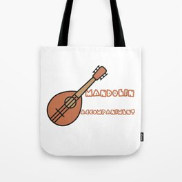 Mandolin Accompaniment Tote Bag