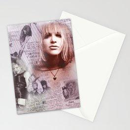 Courtney Zine Style Art Stationery Cards