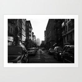 NYC street Art Print