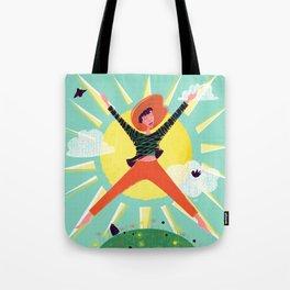 Exuberant! Tote Bag