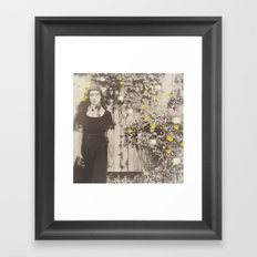 Dahlia Gaze Framed Art Print