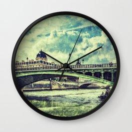 SEINE RIVER Wall Clock