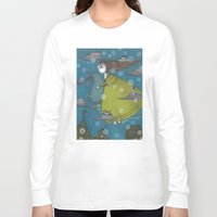 archan nair Long Sleeve T-shirts featuring The Sea Voyage by Judith Clay