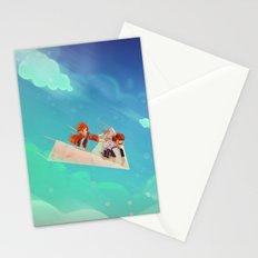 Flying Around Stationery Cards