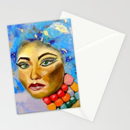 Shiba by Varda Levy Stationery Cards