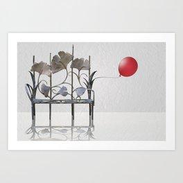 Place of rest Art Print