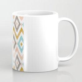 Sketchy Diamond IKAT Coffee Mug