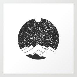 Cosmic Way Art Print