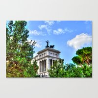 rome Canvas Prints featuring Rome. by haroulita