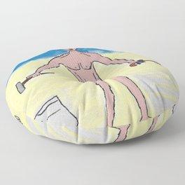 Slave Floor Pillow