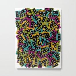 Cassette culture Metal Print