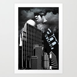 5 a.m. in the night Art Print