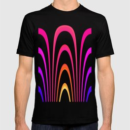 Cheerful lines T-shirt