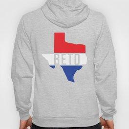 Beto Texas Red White Blue Patriotic T-Shirt For US Senate Senator Democrat Turn Texas Blue Democratic Party Hoody
