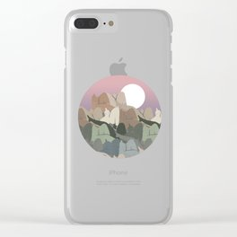 The Mountain's Flesh Clear iPhone Case