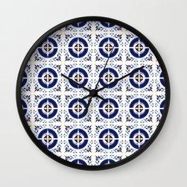 Talavera Tiles no.1 Wall Clock
