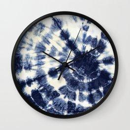 Indigo I Wall Clock