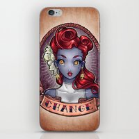 pinup iPhone & iPod Skins featuring CHANGE pinup by Tim Shumate