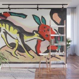 "Franz Marc ""Fantastic Creature (Fabeltier)"" Wall Mural"