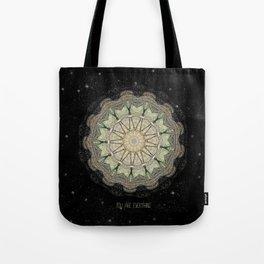 You are Everything Mandala Tote Bag