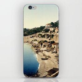 Beach at Marseille, France, ca. 1895 iPhone Skin