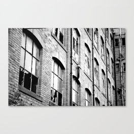 Abandoned Mill Canvas Print