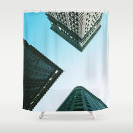 View from 4th and Wood in Pittsburgh, PA Shower Curtain