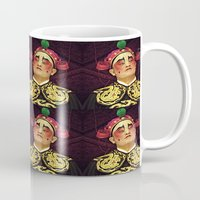 actor Mugs featuring Chinese Opera Actor. by Ian Gledhill