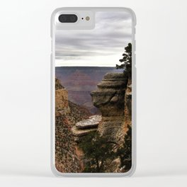 South Rim of The Grand Canyon Clear iPhone Case