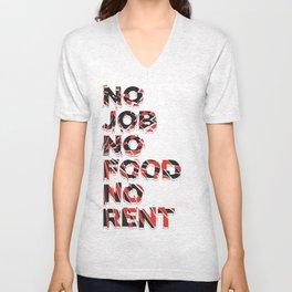 no no no Unisex V-Neck