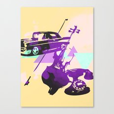 Throwback Canvas Print