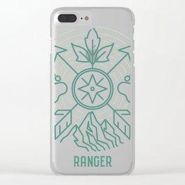 Ranger Emblem Clear iPhone Case
