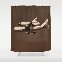 Space Shuttle Endeavor Shower Curtain