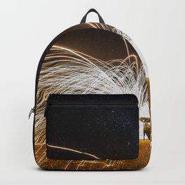 fire rain Backpack