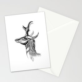 Ernst Haeckel's Antilopinae Stationery Cards