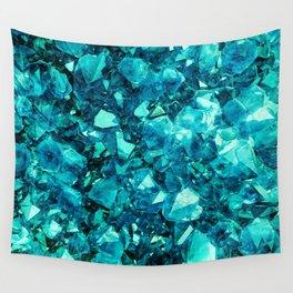 Aquamarine Wall Tapestry