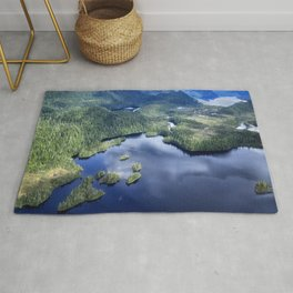 Misty Fiords national monument 2 Rug