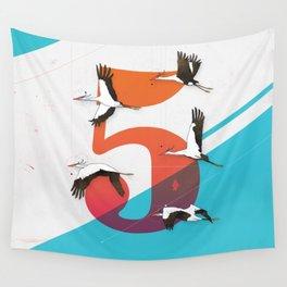 5Birds Wall Tapestry